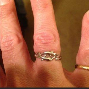 Lia Sophia Dolphin ring